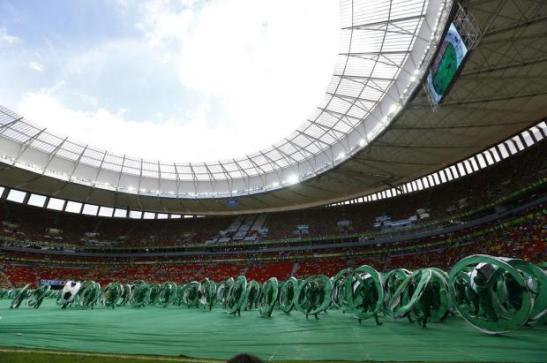 Mané GarrinchaStadium in the capital city of Brasília