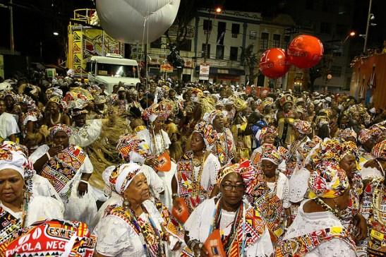 An Ilê Aiyê event in Salvador, Bahia