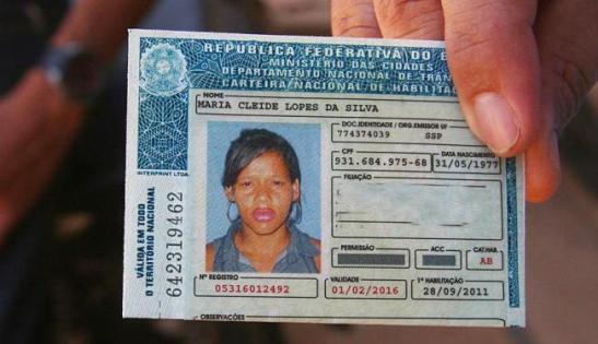 ID of victim, Maria Cleide Lopes da Silva