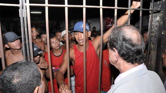 Inspection in prison complex