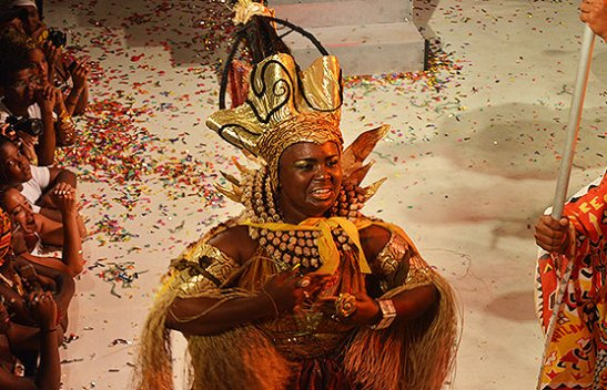 Cynthia Paixão de Jesus was crowned the Ebony Goddess of 2014