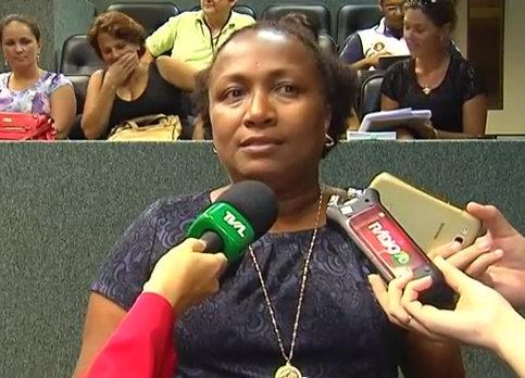 Marilú Lima de Oliveira, coordenator of the Programa Antonieta de Barros