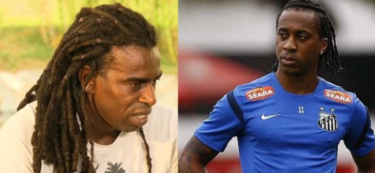 Tinga (left) and Arouca were recent victims of racism in soccer stadiums