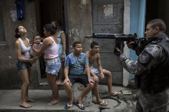 Favela under UPP occupation
