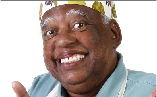 """João Acaibe is the friendly and harmonious Tio (Uncle) Chico, the orphanage's cook, also on """"Chiquitatas"""""""