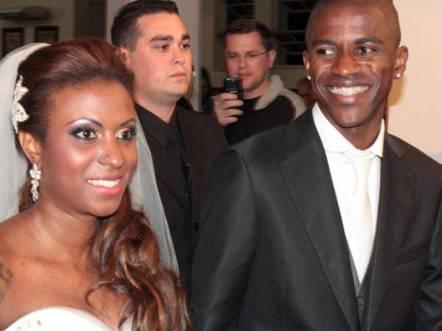 Ramires and wife Islana