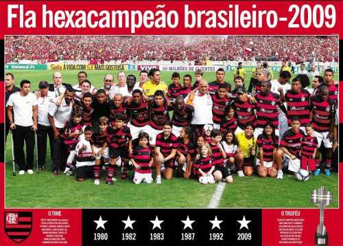 Flamengo, coached by Andrade, won the 2009 Brasileirão