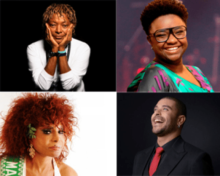 Mart'nália, Ellen Oléria, Elza Soares and Diogo Nogueira were just a few of the performers at the festival
