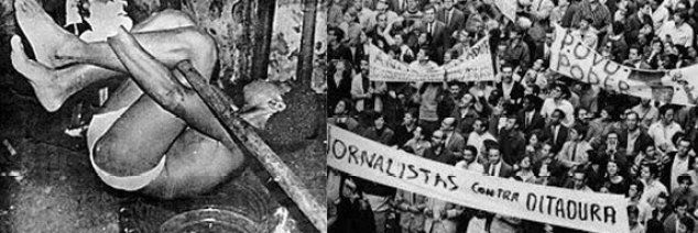 Under Brazil's Military Dictatorship, thousands were tortured and disappeared which led to massive protests