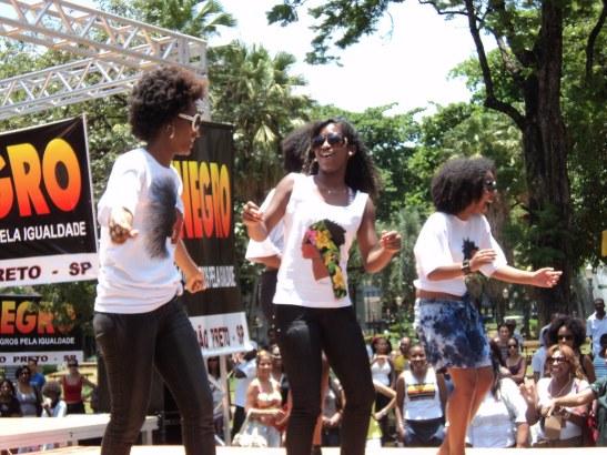 UNEGRO in Ribeirão Preto, São Paulp during a Day of Black Consciousness celebration