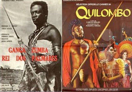 "1964 film ""Ganga Zumba"" and 1984 film ""Quilombo"""