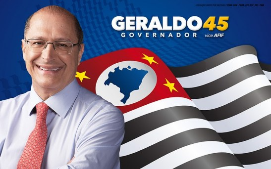 São Paulo governor Geraldo Alckmin of the PSDB