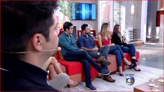 "The ""all-white panel"" on the Globo talk show ""Encontro com Fátima Bernades"""