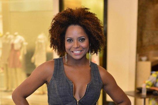 Dancer/TV reporter Adriana Bombom