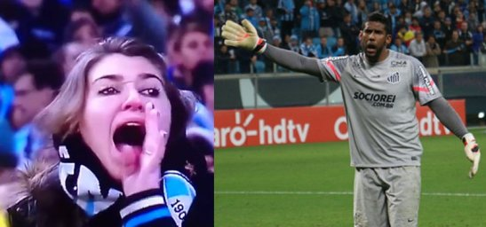 """Patrícia Moreira was caught on video calling the Santos goalie Aranha """"macaco"""", meaning monkey, back in August"""