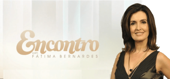 """Globo TV talk show """"Encontro com Fátima Bernardes"""""""