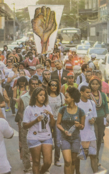 Espírito Santo - People took to the streets of the capital city of Vitória with the slogan 'Reaja Ou Será Morto (React or be killed)