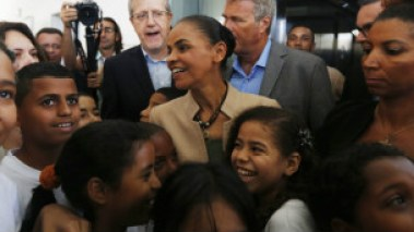 Marina Silva lags behind incumbent President Dilma Rouseff in terms of black support