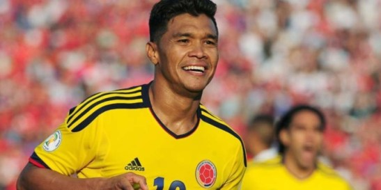 Last month in Argentina, Colombian player Teófilo Gutiérrez was insulted by a radio announcer