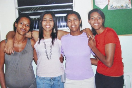 Four sisters from the state of Minas Gerais