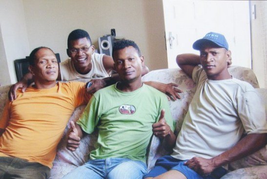 Four brothers from the state of Bahia