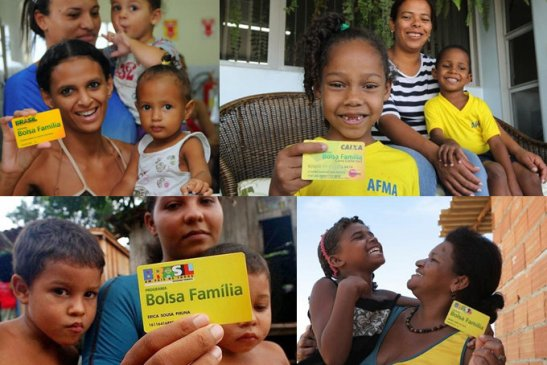 Millions of families across the country have benefited from the Bolsa Família program