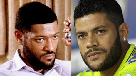"""Lawrence Fishburne in the 1991 film """"Boyz in the Hood"""" and Hulk"""