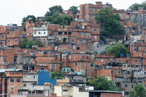 Mangueira: one of the most famous favelas in Brazil