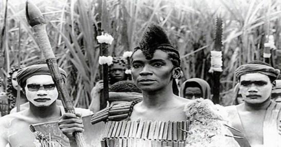 Zezé Motta as Dandara in the 1984 film 'Quilombo'