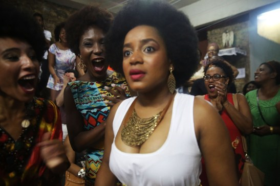 Miss Black Power Competition Held In Rio