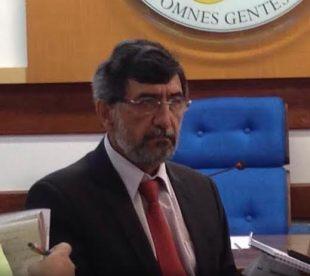 Dean of UFES, Reinaldo Centoducatte