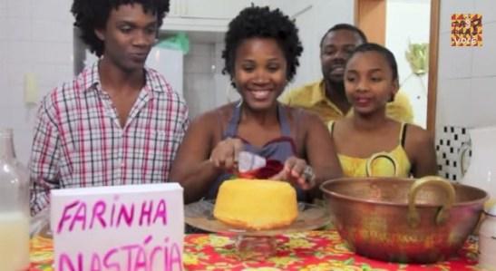 Scene from the You Tube series 'Tá bom pra você?'