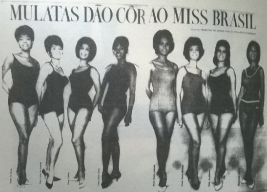 """The club also sought to establish a standard of black beauty through its """"Miss Mulata"""" contests"""