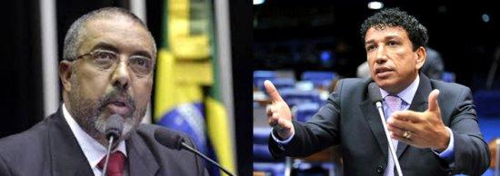 Paulo Paim (of the PT of Rio Grande do Sul) and Magno Malta (of the PR of Espírito Santo) are the country's only two black senators