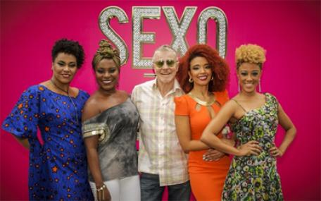 Actresses and creator of 'Sexo e as negas'