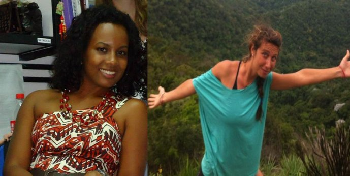 Miriam França de Mello, left, was arrested and imprisoned and is considered a suspect in the murder of an Italian tourist, Gaia Molinari