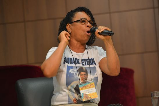 Maria de Fátima Silva, mother of the late dancer DG, blasted the show's producer and host last November