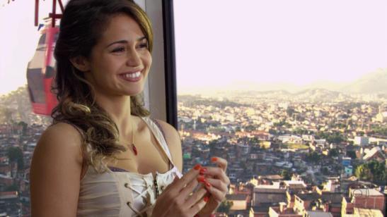Nanda Costa in the role of Morena in 'Salve Jorge' (2012)