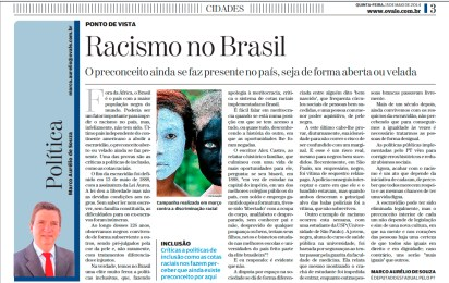 """Article: """"Racism in Brazil"""""""