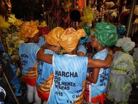 Women in Rio de Janeiro continue to organize for the 2015 Black Women's March