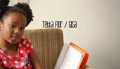 8-year old actress Tekka Flor plays Gisa
