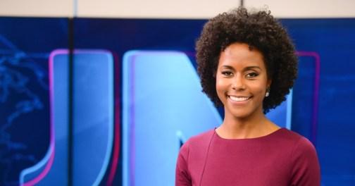 Globo TV journalist Maria Coutinho