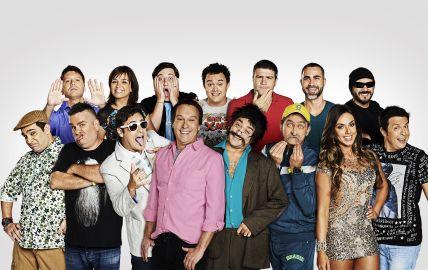 The cast of 'Pânico na Band'