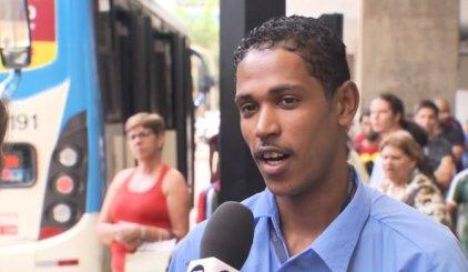 Bus cashier Aderbaldo Ribeiro dos Santos