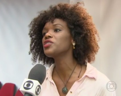 Dandara Marques from Pernambuco made a police report against a racial comment on Facebook