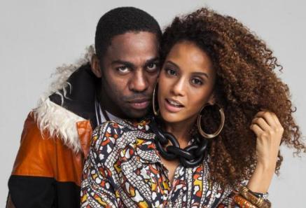 Actor Lázaro Ramos and wife actress Taís Araújo star in the Globo TV novela 'Mister Brau'