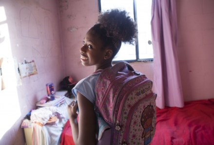 Soffia in her room
