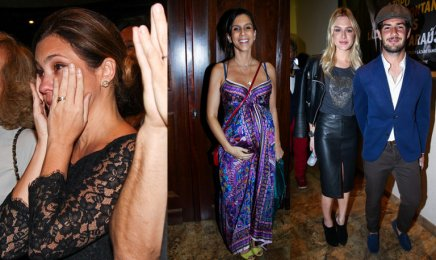 Adriana Esteves, Sarah Oliveira, Fiorella Mattheis and Alexandre Pato were in attendance