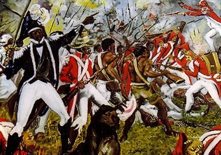 Because of the late 18th century Haitian Revolution, Brazilian elites lived in constant fear that a 'black revolution' could also happen in Brazil