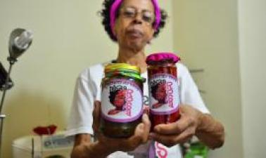 Vanice Carrera saw in the project an opportunity to make jams to sell (Tomaz Silva/Agência Brasil)